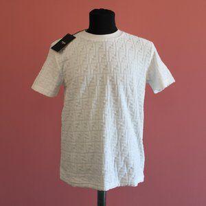 Fendi FF Monogram Summer White T-Shirt